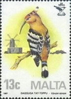 [Birds - Malta Ornithological Society, type TK]