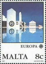 [EUROPA Stamps - Modern Architecture, type TM]