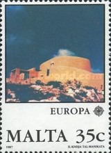 [EUROPA Stamps - Modern Architecture, type TN]