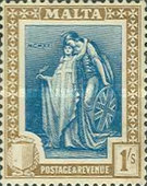 [Allegorical Stamps, Typ U]