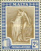 [Allegorical Stamps, type U1]
