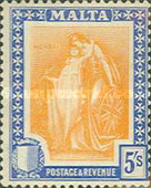 [Allegorical Stamps, Typ U3]