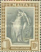 [Allegorical Stamps, Typ U4]