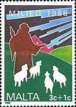 [Christmas Stamps, type UY]