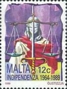 [The 25th Anniversary of Independence, type VF]