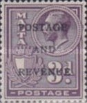 [King George V and Coat of Arms Stamps of 1926-1927 Overprinted