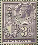 [King George V and Coat of Arms, type X6]