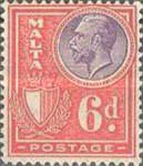 [King George V and Coat of Arms, type X9]