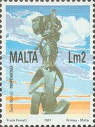[Natural and Artistic Heritage of the Maltese Islands, type XW]