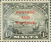 [Definitives of 1926-1927 Overprinted POSTAGE AND REVENUE, type Y2]