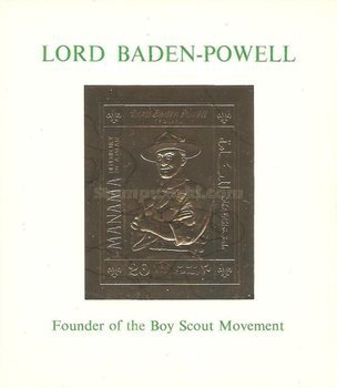 [Airmail - Lord Baden-Powell, type ]