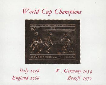 [Airmail - Football World Cup - Mexico, type ]