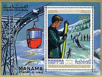 [Airmail - Winter Olympic Games - Sapporo, Japan, type ]
