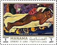[Paintings of Paul Gauguin, French Painter and Graphic Artist, type ABE]