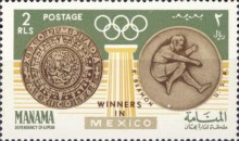 [Gold Medal Winner of Olympic Games - Mexico City, Mexico, type CF]