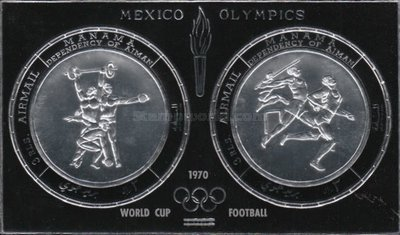 [Airmail - Olympic Games - Mexico City, Mexico, type GB1]