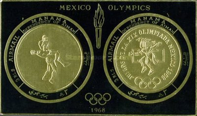 [Airmail - Olympic Games - Mexico City, Mexico, type GD]