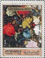 [Christmas - Flower Paintings, type KG]