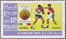[Olympic Games - Mexico City, Mexico, type O]