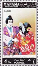 [Scenes of Kabuki Play, type XR]