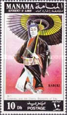 [Scenes of Kabuki Play, type XT]