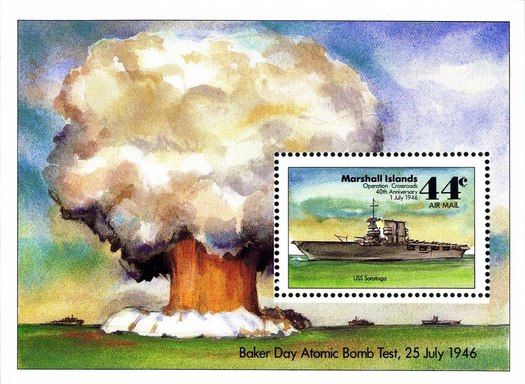 [The 40th Anniversary of Operation Crossroads, Atomic Bomb Tests on Bikini Atoll, Typ ]