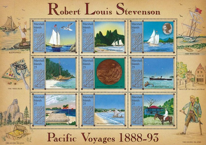 [The 100th Anniversary of Robert Louis Stevenson's Pacific Voyages, Typ ]