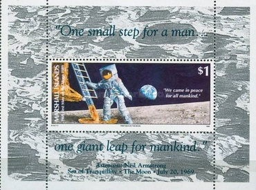 [The 20th Anniversary of the First Manned Moon Landing, Typ ]