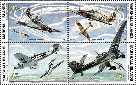 [History of the Second World War - Battle of Britain, 1940 - Airplanes, Typ ]