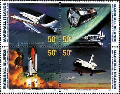 [The 10th Anniversary of the Space Shuttle Flights, Typ ]