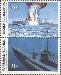 [History of the Second World War - Sinking of U.S.S.