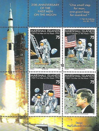 [The 25th Anniversary of the First Manned Moon Landing, Typ ]