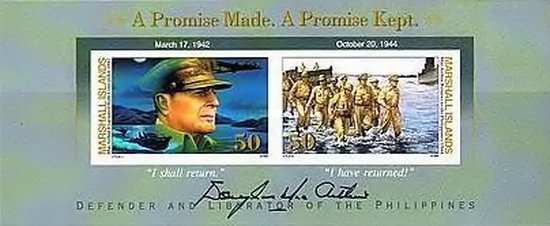 [The 50th Anniversary of General Douglas MacArthur's Return to Philippines, Typ ]