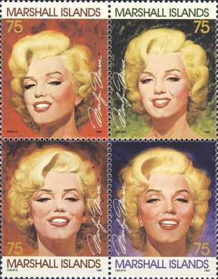 [The 69th Anniversary of the Birth of Marilyn Monroe, 1926-1962, Typ ]