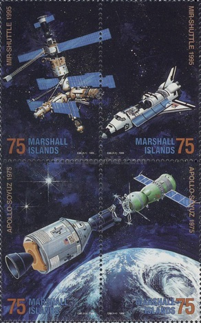 [Docking of Atlantis with