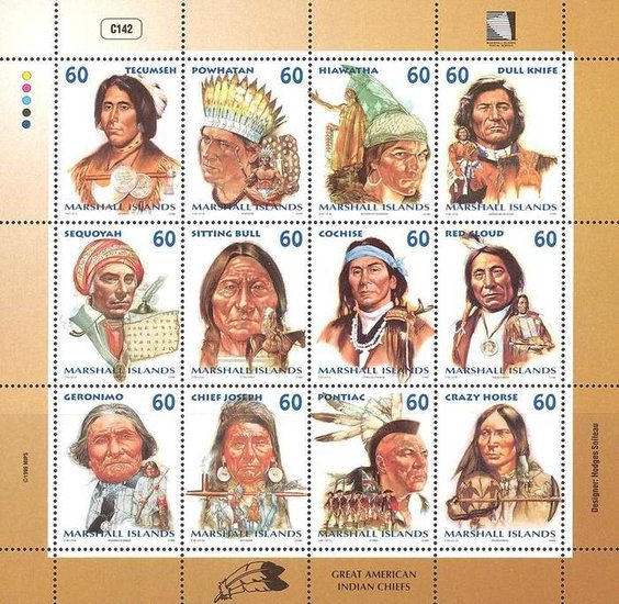 [Great American Indian Chiefs, Typ ]