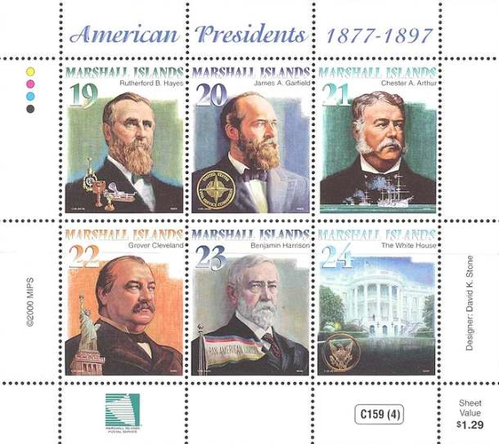 [American Presidents 1877-1897, Typ ]