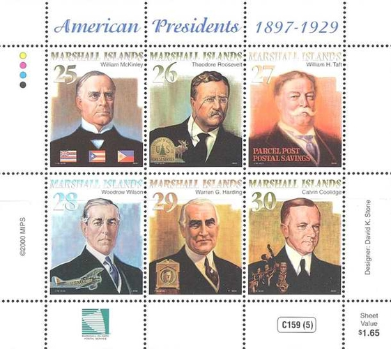 [American Presidents 1897-1929, Typ ]