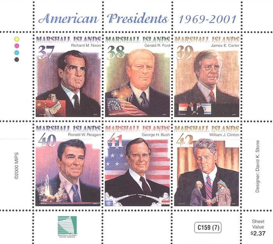 [American Presidents 1969-2001, Typ ]