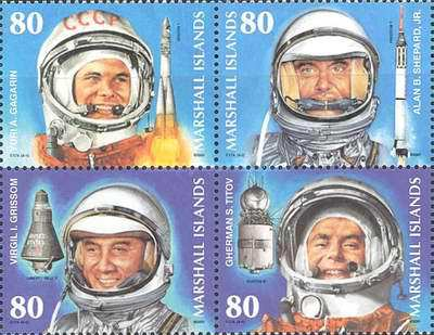 [The 40th Anniversary of the First Manned Space Flight, Typ ]