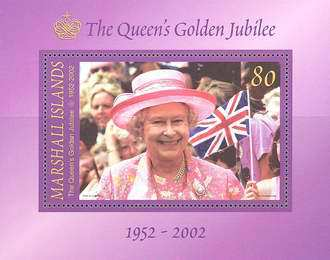 [Golden Jubilee - The 50th Anniversary of Queen Elizabeth II's Accession to the Throne, Typ ]