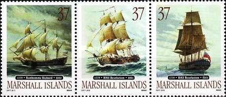 [The 225th Anniversary of the American Revolution Sea Battle and the 225th Anniversary of Captain Cook's Final Voyages, Typ ]