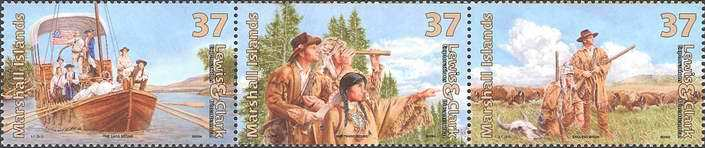 [The 200th Anniversary of the Meriwether Lewis and William Clark's Expedition to Explore the West Coast of America, Typ ]