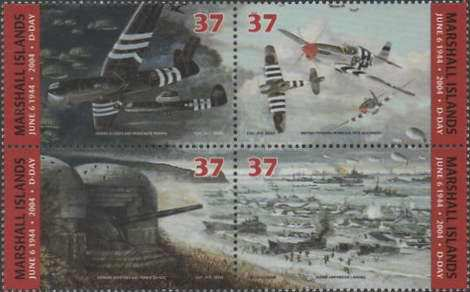 [The 60th Anniversary of the D-Day - Invasion of German Occupied French Coast, Typ ]