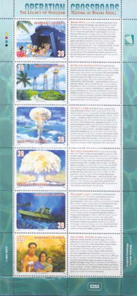 [The 60th Anniversary of the First Nuclear Testing at Bikini Atoll, Typ ]