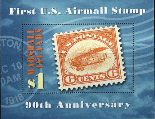 [The 90th Anniversary of the First United States Airmail Stamp, Typ ]
