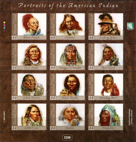 [American Indian Chiefs, Typ ]