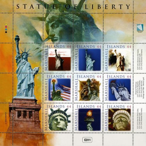 [The 125th Anniversary of the Statue of Liberty, Typ ]