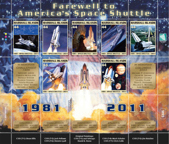[Farewell to America's Space Shuttle, Typ ]
