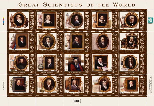 [Great Scientists of the World, Typ ]